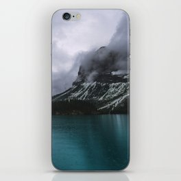 Landscape Photography Maligne Lake Mountain View | Turquoise Water | Alberta Canada iPhone Skin