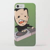 dj iPhone & iPod Cases featuring DJ by Grime Lab