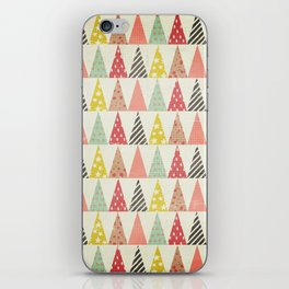 Whimsical Christmas Trees iPhone Skin