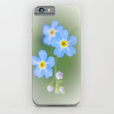 Forget-me-not iPhone 6s Slim Case