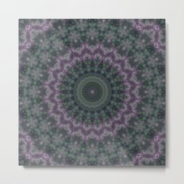 Warm evening , kaleidoscope Metal Print