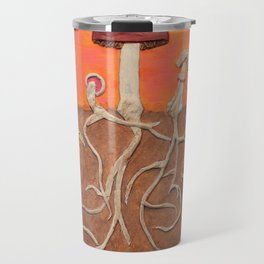 Laughing Shrooms Travel Mug
