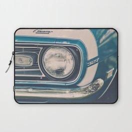 Blue Classic Camaro Laptop Sleeve