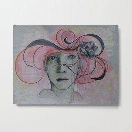 """Miss Chicago"" by Nisus L'art Metal Print"