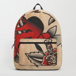 hearts and daggers Backpack