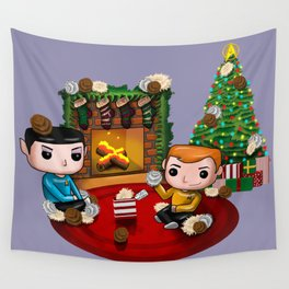 The Trouble with Christmas Wall Tapestry