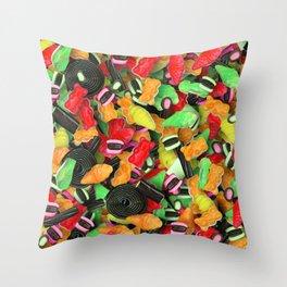 Candy 8 Throw Pillow