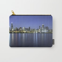 Chicago Skyline Dusk Panorama Carry-All Pouch