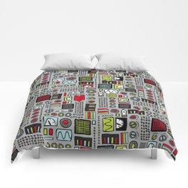 Robot Controls Comforters