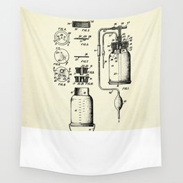 Blood Transfusion and Storage Apparatus-1942 Wall Tapestry