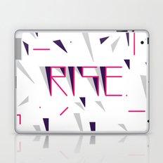 Rise No.2 - White Laptop & iPad Skin