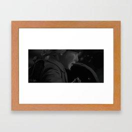 Run Boy Run Framed Art Print