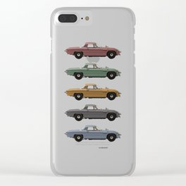 Five Mazdas Clear iPhone Case