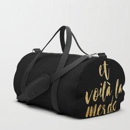 et voilà Duffle Bag