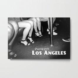 Greetings from Los Angeles Metal Print