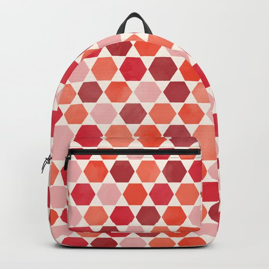 Red Tiles Backpack