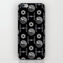 Empire ships pattern - dark side - movie - 80s iPhone Skin