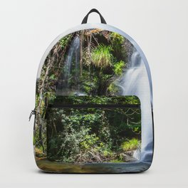 Cascata verde Backpack