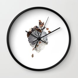 The Heart Wall Clock