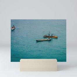 Gone Fishin' Mini Art Print