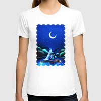 aladdin T-shirts featuring Starry Night Aladdin by ThreeBoys