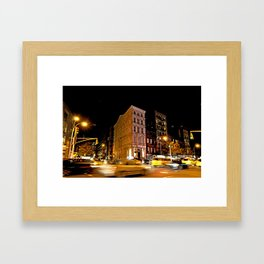 Second Ave. NYC Framed Art Print