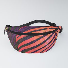 COLORFUL TROPICAL LEAVES no1 Fanny Pack