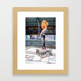 Hairflip  Framed Art Print