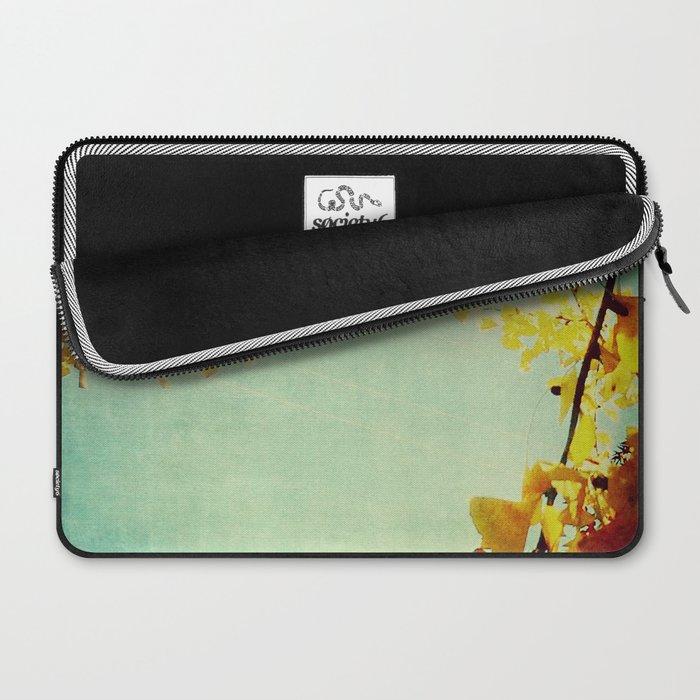 Gingko Branches Laptop Sleeve