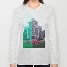 Cracked church... Long Sleeve T-shirt