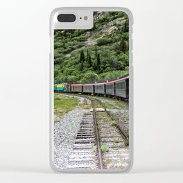 White Pass and Yukon Railroad Clear iPhone Case