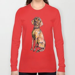 Hungarian Vizsla Dog Long Sleeve T-shirt