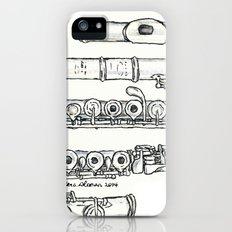 Flöte iPhone (5, 5s) Slim Case