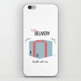 Baby delivery iPhone Skin
