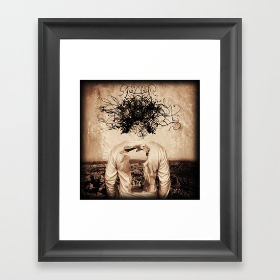 A Visit to the Gallery in My Underwear Framed Art Print