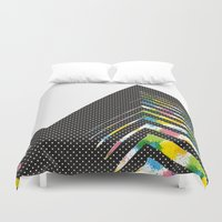 architect Duvet Covers featuring abstract::architect by justlittlebird