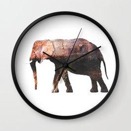 Elephant IV Wall Clock