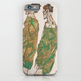 Egon Schiele Devotion iPhone Case