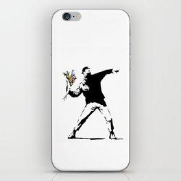 Rage Flower Thrower iPhone Skin