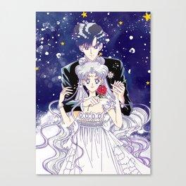 Princess Serenity & Prince Endymion Canvas Print