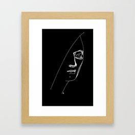 Negative Portraits, 1. Framed Art Print