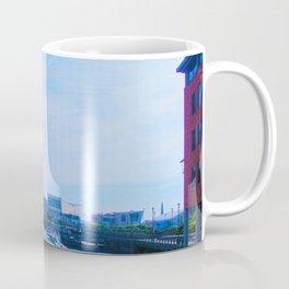 Liver Building from Princes Dock Coffee Mug