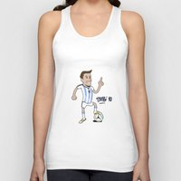 messi Tank Tops featuring Lio Messi by 6312man