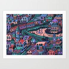 Loch Tess Art Print