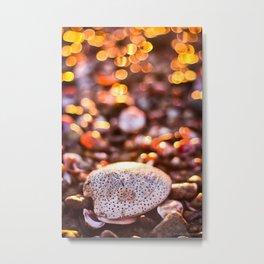 Bokeh Sprinkles Metal Print