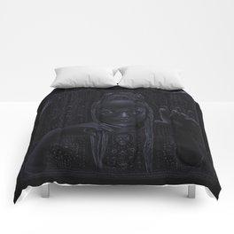 DARK TEMPLE - Du noir naît la lumière Comforters