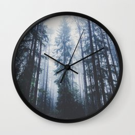 The mighty pines Wall Clock