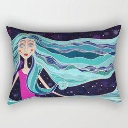 Ocean Skirt Rectangular Pillow