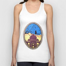 Indian cat view Unisex Tank Top