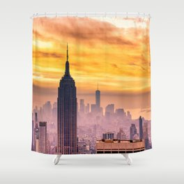 New York . Shower Curtain